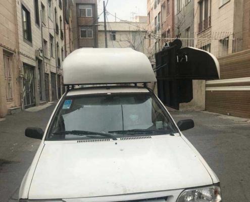 تجهیز خودرو با بالابر ویلچر