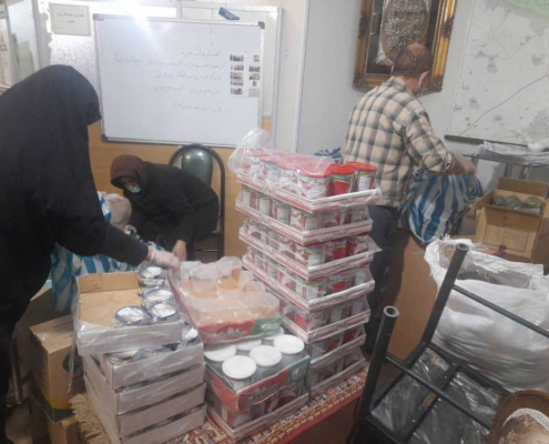 تهیه و توزیع ارزاق عیدانه